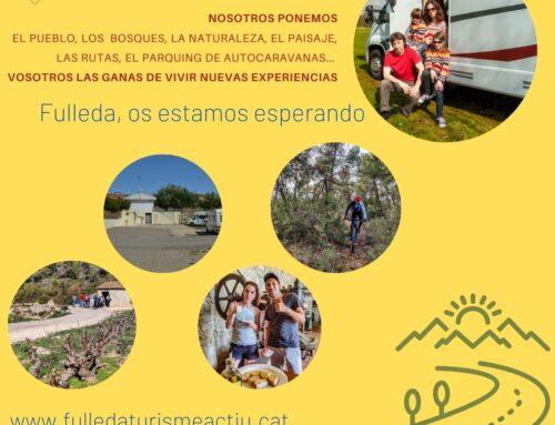 Fulleda Turisme Actiu, el portal d'accés a més de 500 quilòmetres de descoberta